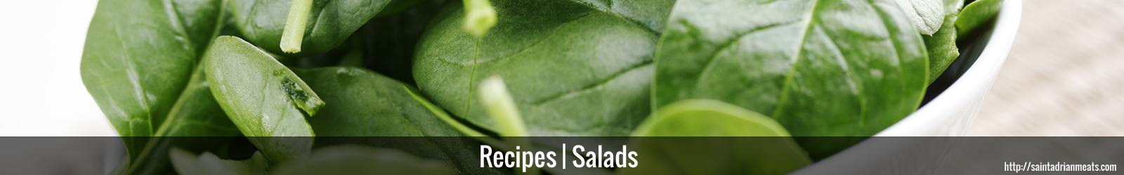 Salad Recipes | Saint Adrian Meats & Sausage | Lebanon, IN